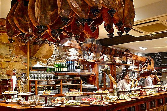 the best tapas bars of Malaga