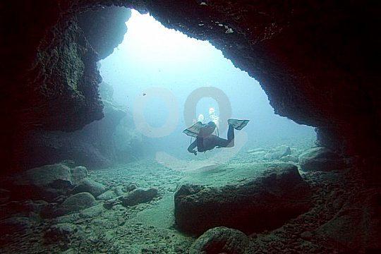 Dive Cave Tenerife