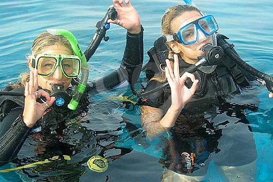 Diving for beginners in Gran Canaria