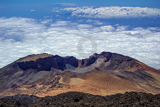 guided tour to Teide summit