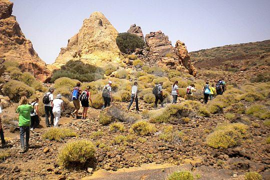 Teide walking in Tenerife