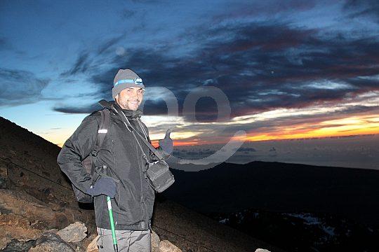 Trekking to Teide at sunrise