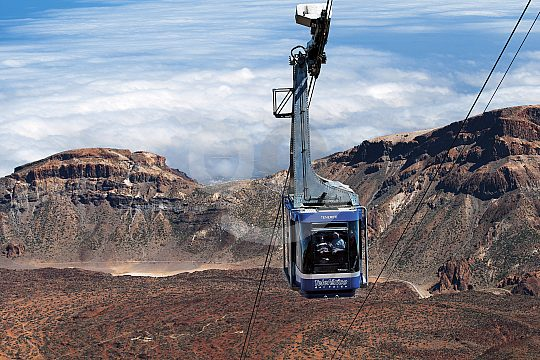 book Teide cable car tickets online