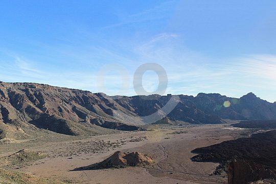 Landschaft im Naturpark Teide