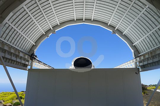 telescope of the Teide observatory