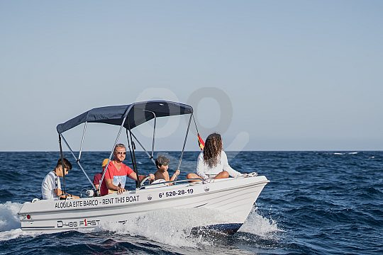 Tenerife boat hire without licence