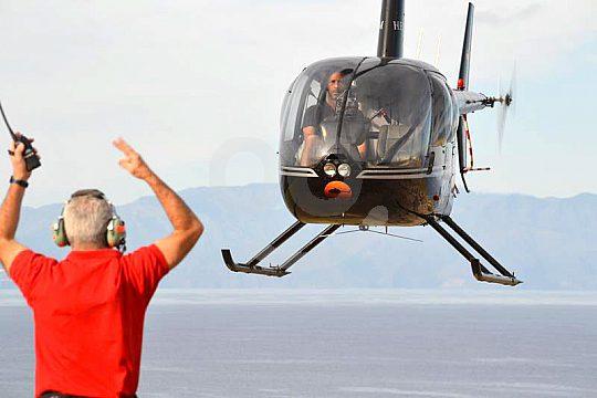 Rundflug Hubschrauber Start Landung Teneriffa