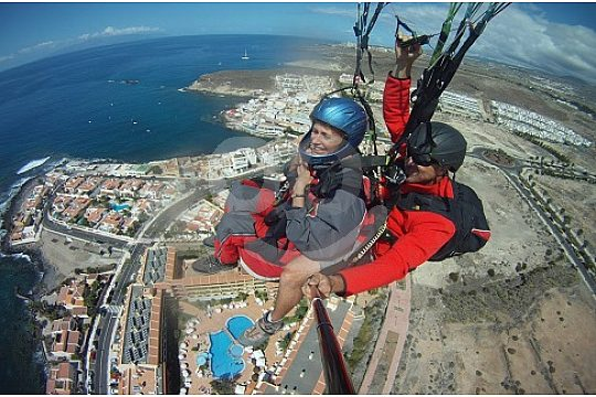 Tandem Paragliding in Tenerife from Mount Ifonche