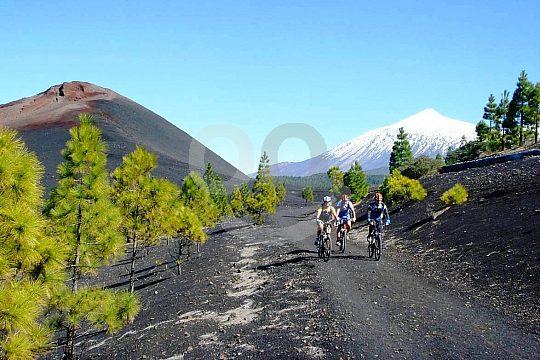 mountain biking Tenerife