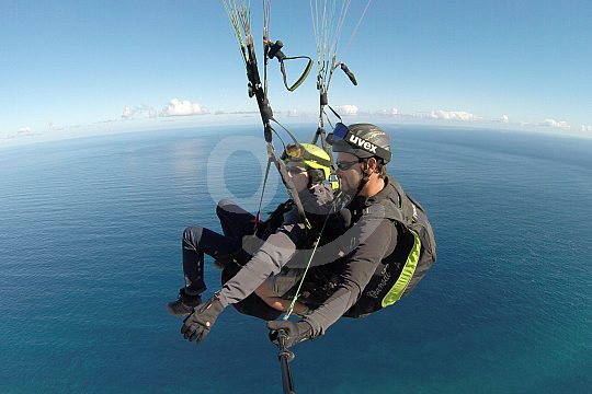 Paragliding Tenerife north of the island