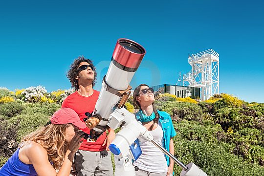 Observatory in Tenerife