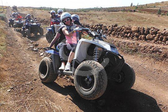 Quad riding in Tenerife