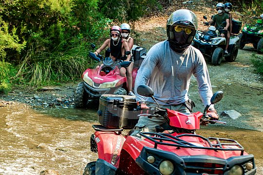 Adventure tour with Quads in Crete