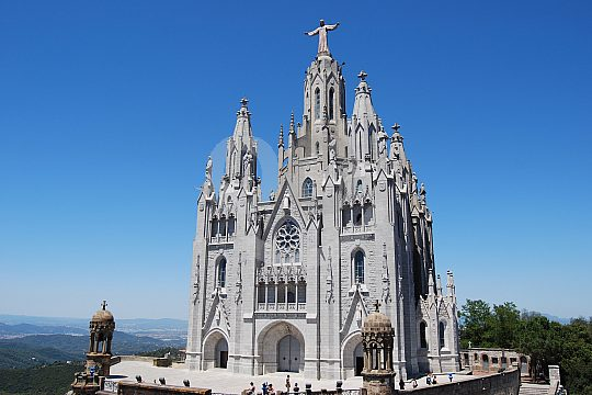 Tibidabo tour in Barcelona