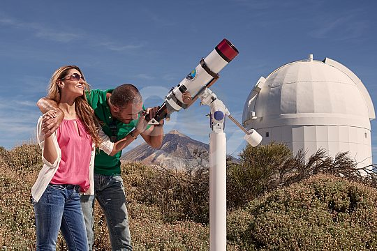 guided tour in the observatory Tenerife