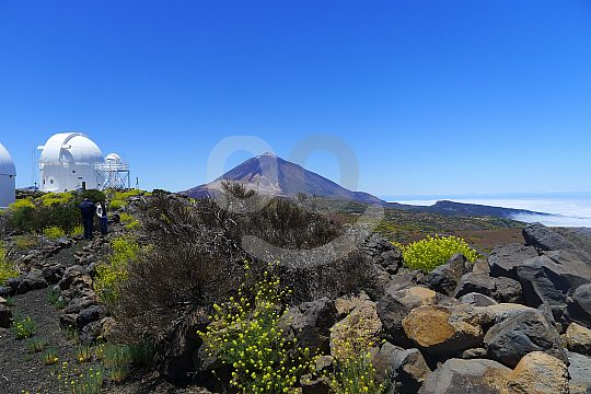 tour in the Teide observatory