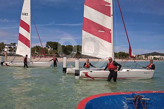 Topcat catamaran rental in Alcudia