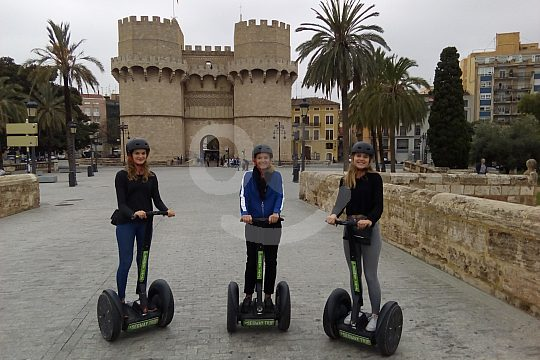 Segway riding in Valencia