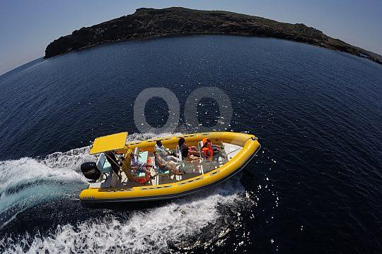 speedboat chartern in Menorca