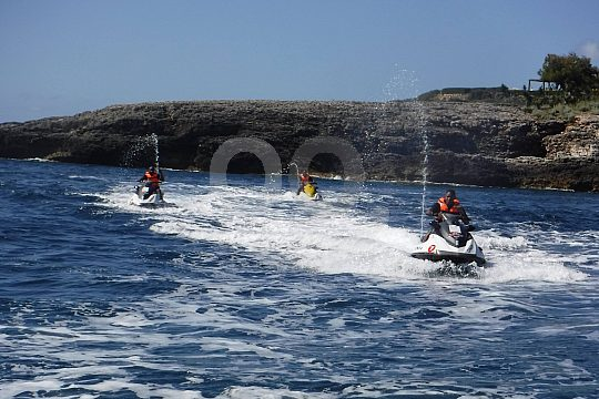 Jetski Safari at the east coast of Mallorca