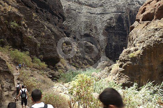 Masca gorge hike