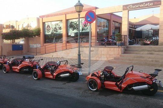 Trike group in Fuerteventura