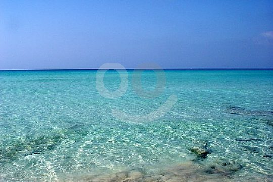 crystal clear water Formentera