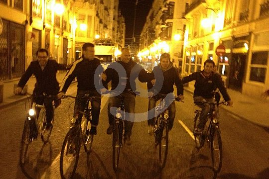 bike night tour in Valencia