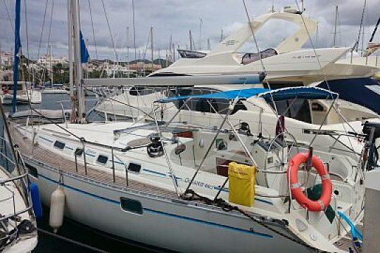 Aguilas sailing boat