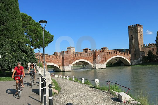 cargo bike tour with kids in verona