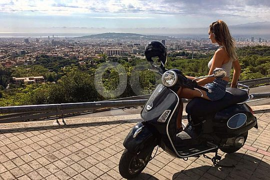 affordable Barcelona Vespa rental