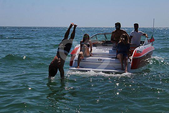 Algarve speed boat tour