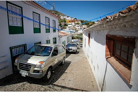Typical mountain villages at the VIP island tour Tenerife