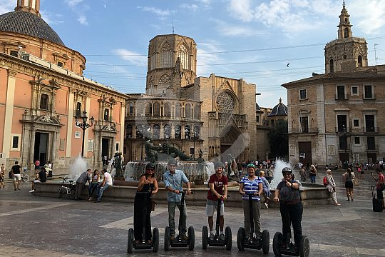 Discover the Valencia city centre by Segway