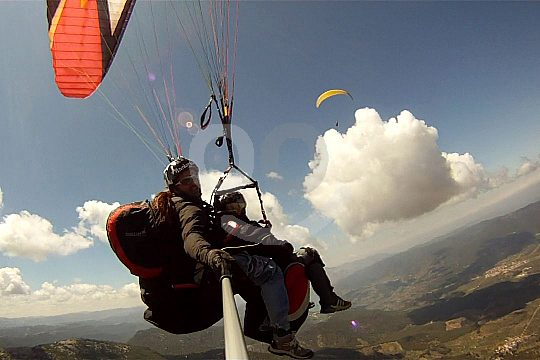 Ab Benidorm Fallschirmfliegen