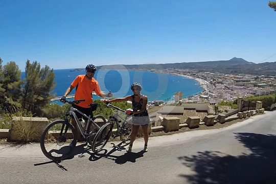 Views from Montgo at Costa Blanca