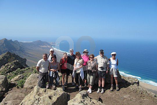 wandern auf Fuerteventura zu Vulkanen