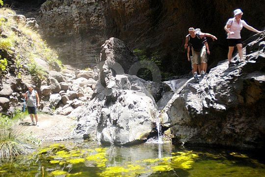 hike in the Masca gorge Tenerife