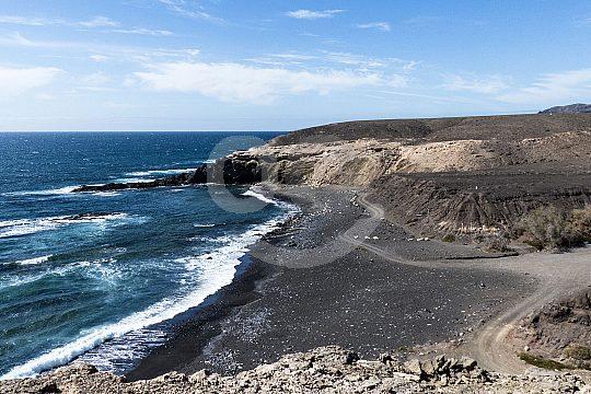 Wandern an der Westküste von Fuerteventura