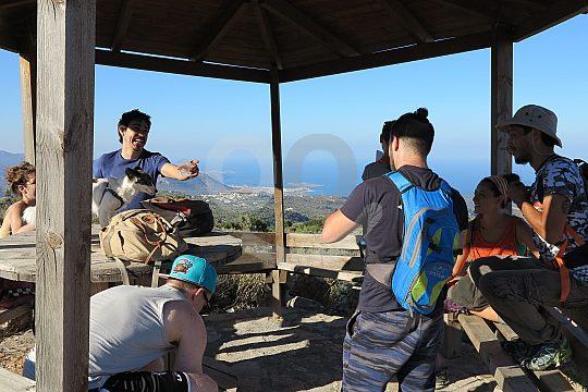 Wandern zur Aussichtsplattform Kritsa