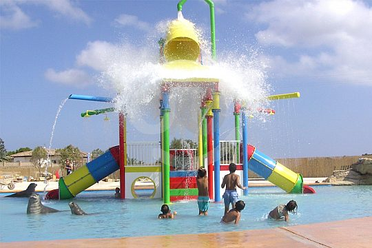 The water park for kids at Costa Blanca