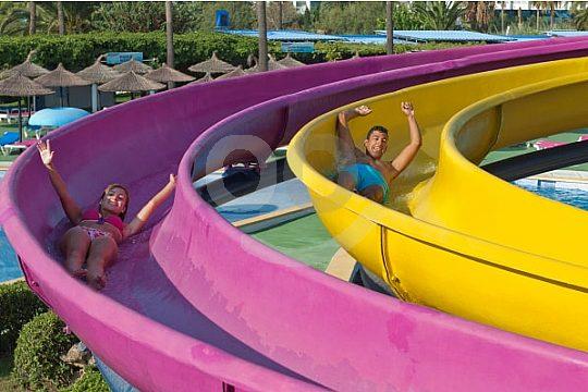 Mallorca Hidropark slide