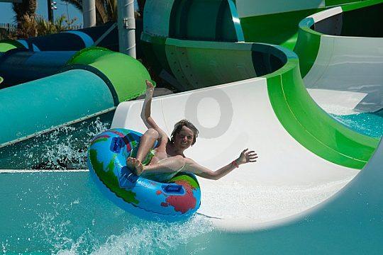 fun while sliding in Aqualava