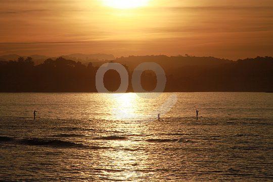 Sunset on the Costa Vasca