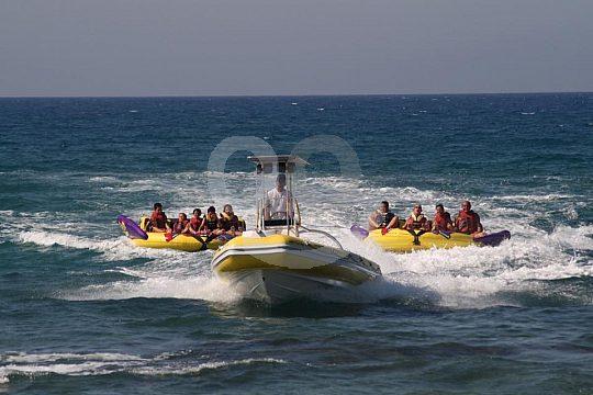 Watersport options in Crete