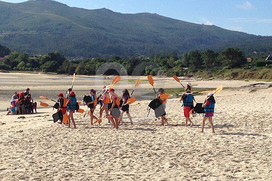 Gruppenerlebnis in Galicien