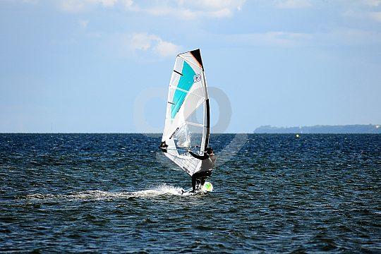 Windsurfen an der Costa Dorada