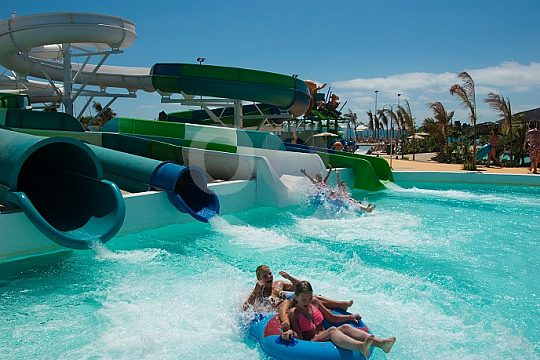 Aqualava Adrenaline rush while sliding