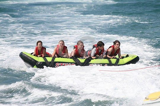 Enjoy watersports in Crete
