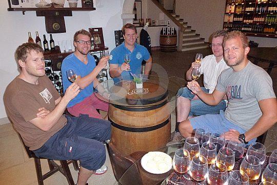 Try wines of Setubal region